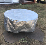 Vinyl Fire Pit Covers