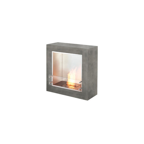 Cube Ethanol Burner Freestanding Limited Edition Designer Fireplace