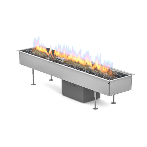Galio Gas Fire Pit Insert Linear