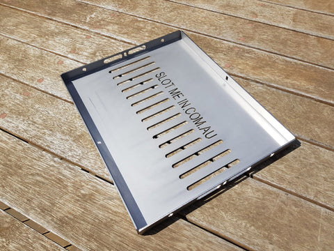 SMI Radiator Combo Stainless Steel Hot Plate/Grill