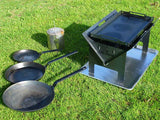 The Wedge™ Full Steel Hot Plate - Fire Pits Direct