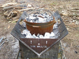 The Wedge™ 600 Fire Pit - Ultimate Combo Kit