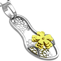 Stainless Steel chain with sandal pendant