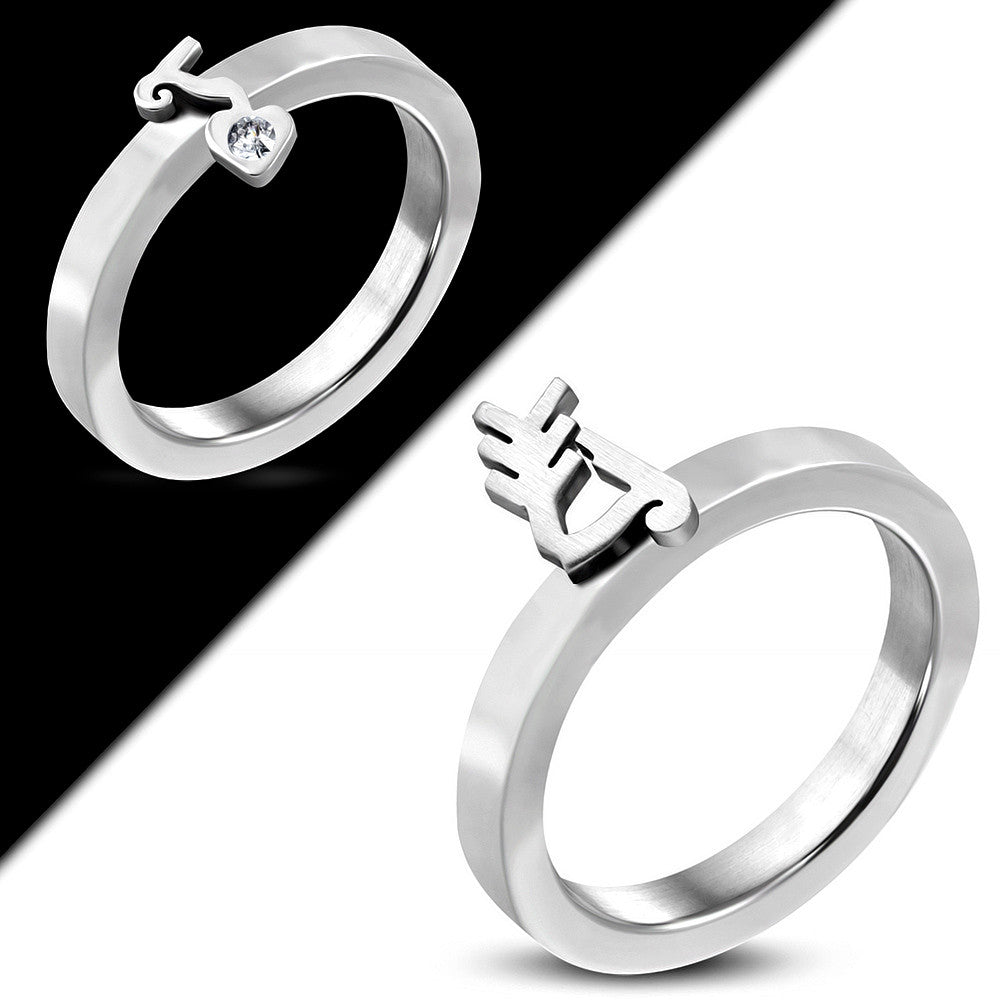 austrian bow wedding rings gold stainless zirconia steel pin made crystal with cubic color