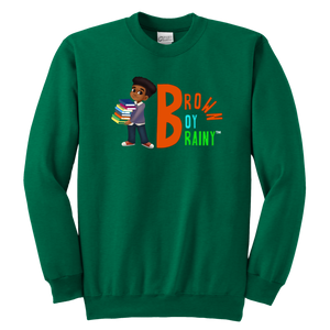 Brown Boy Briany Crewneck Sweatshirt