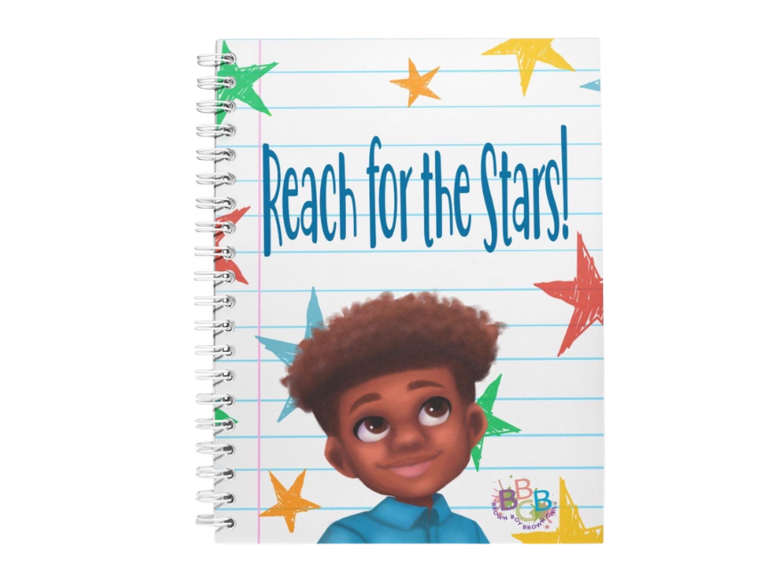 Reach For The Stars™ Boy Notebook