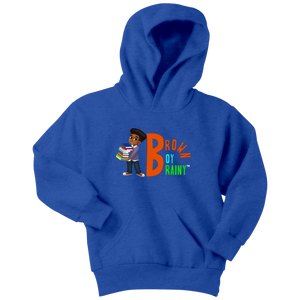 Brown Boy Brainy Signature Hoodie