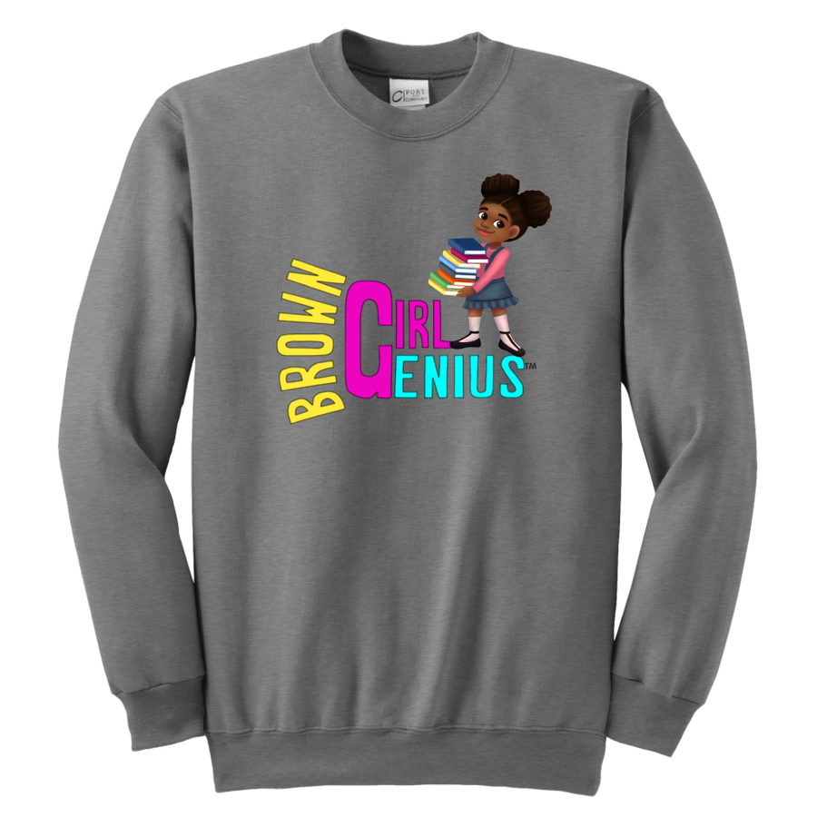 Brown Girl Genius Crewneck Sweatshirt