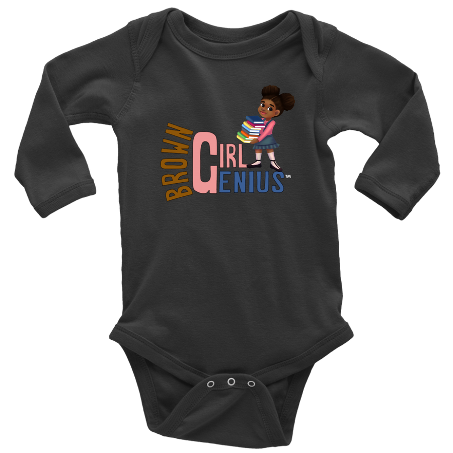 Brown Girl Genius Baby Bodysuit