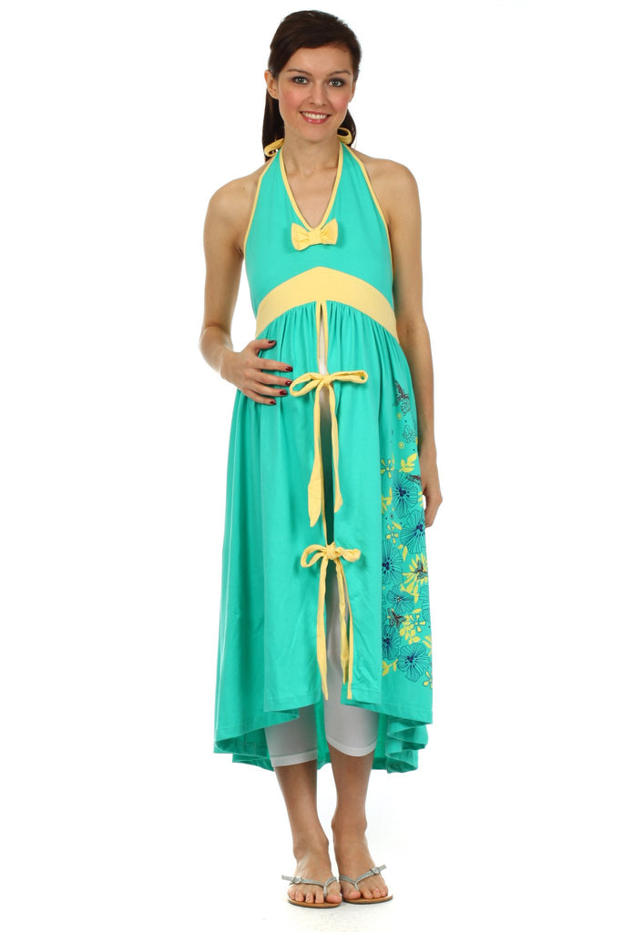 Green Hospital Birthing Gown – BellyMoms Maternity and NursingWear