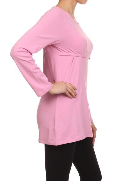 Ellie Empire Maternity and Nursing Top - BellyMoms Maternity