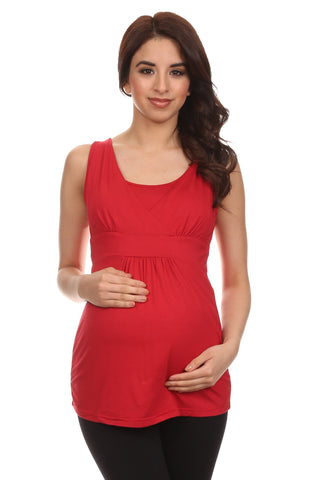 Taylor Nursing Tank - BellyMoms Maternity