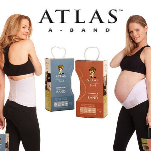 Atlas Combo 2-in-1 Pregnancy and Postpartum Band - BellyMoms Maternity