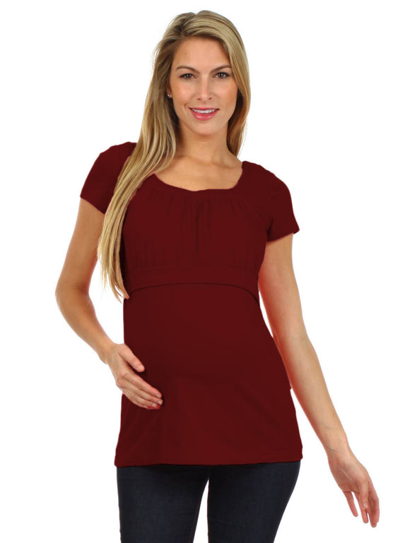 Alexa Nursing Top - BellyMoms Maternity