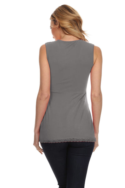 Asmi Nursing Tank - BellyMoms Maternity