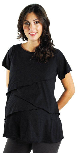 Kismet Tiered Nursing Top - BellyMoms Maternity