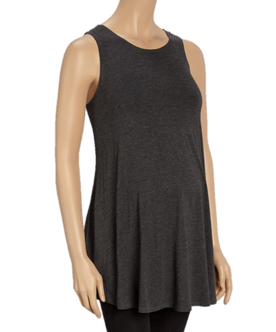 Ally Babydoll Sweep Maternity Tunic Tank Top - BellyMoms Maternity