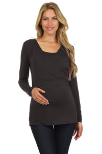 Juliet Nursing Top - BellyMoms Maternity
