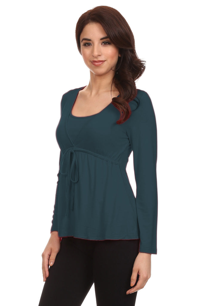 Anna Adjustable Nursing Top - BellyMoms Maternity
