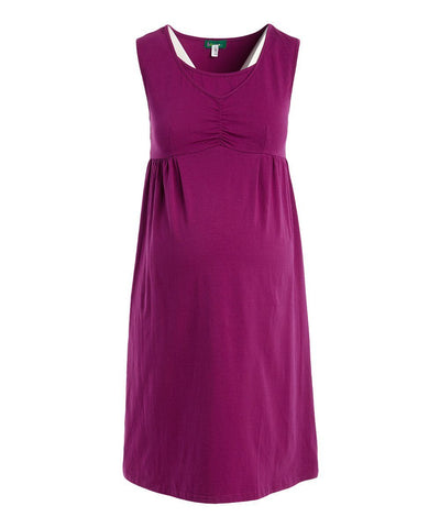 Deb Pin Tuck Nursing Lounge Dress