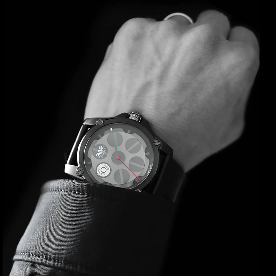 -Model Q1-B.2 (BLACK) Quartz-45mm