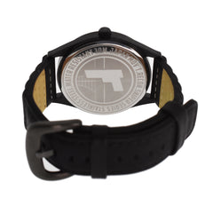 Model Sniper QY Quartz- 42mm with Leather Strap