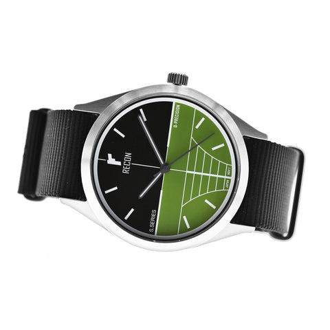 Model Sniper QG Quartz- 42mm with Nato Strap