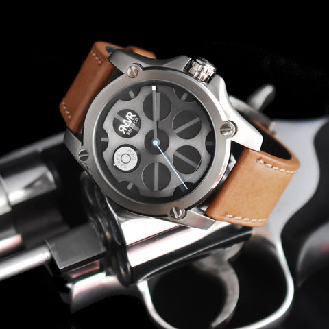 -Model Q1-D (GUN METAL) Quartz-45mm