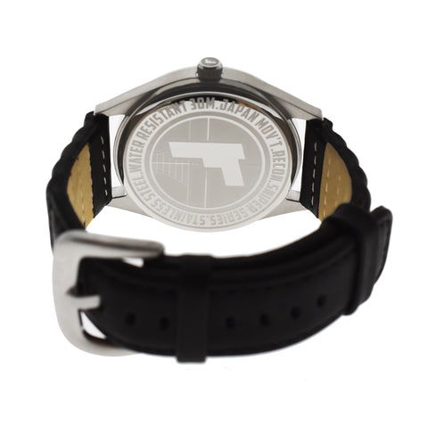 Model Sniper QG Quartz- 42mm with Leather Strap