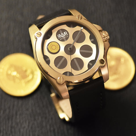 -Model Q1-C.G (GOLD) Quartz-45mm
