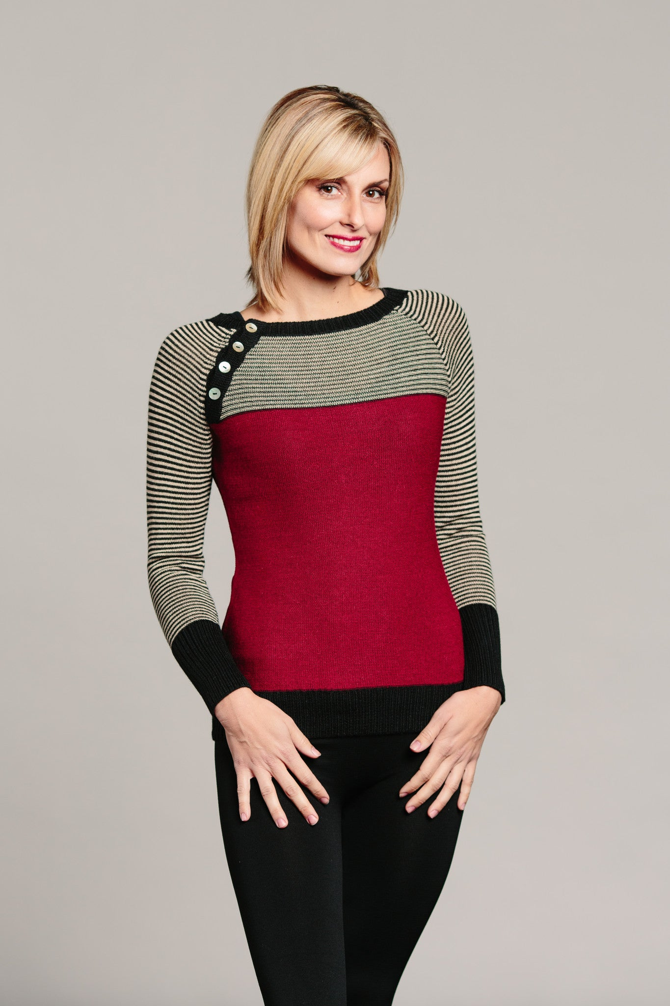 Turkish Delight Sweater - Ella Ember