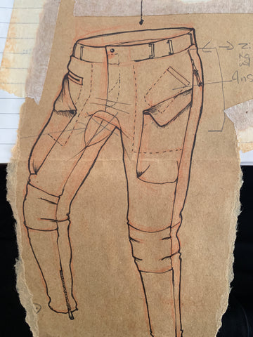 final sketch for pants