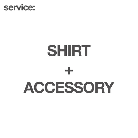 service: Shirt + Accessory - GARUDA