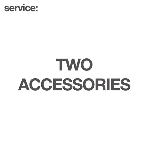 service: Two Accessories - GARUDA