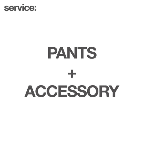 service: Pants + Accessory - GARUDA