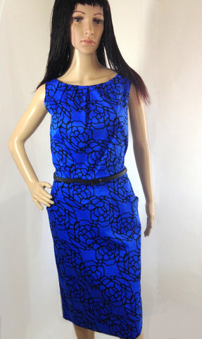 Nine West petal pattern dress