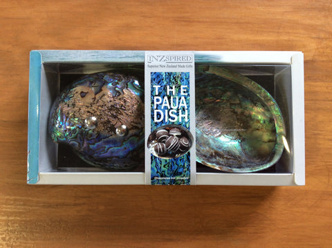 Paua 2 Dishes Boxed