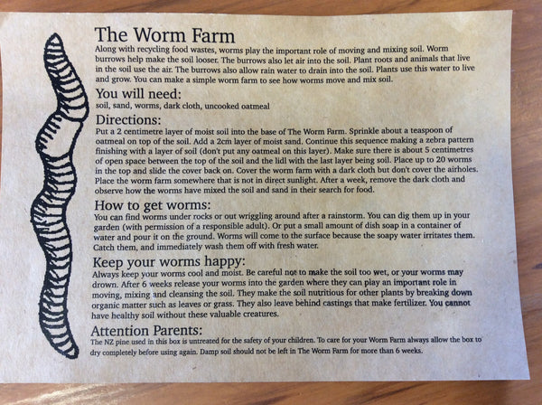 Worm Farm Kit