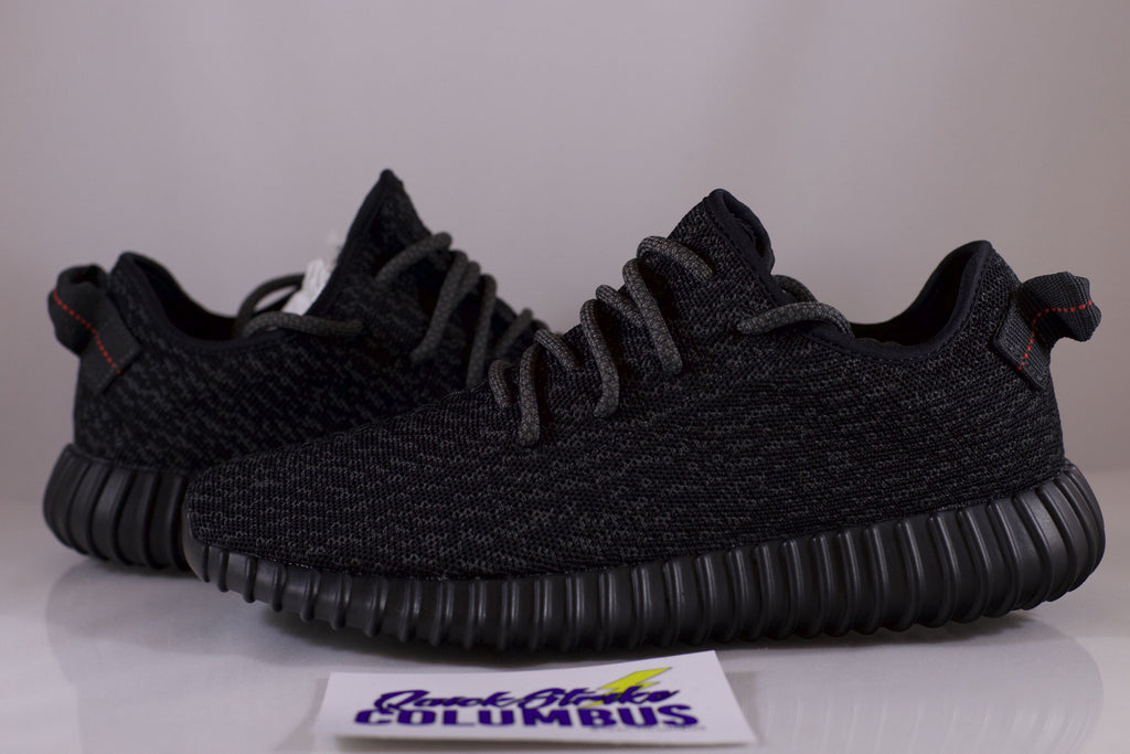 "Adidas Yeezy Boost ""Pirate Black"" 2016 Release"