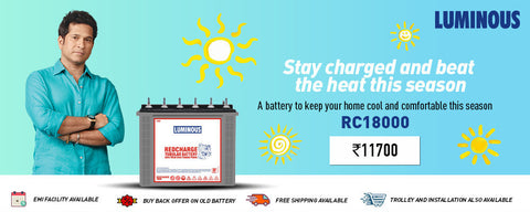 Inverter Battery in Chennai and Bangalore