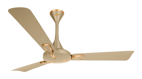 Ceiling Fan - Luminous Trigon Ceiling Fan Sandstrom Gold