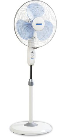 Pedestal Fan - Luminous Mojo Plus 16 Inch / 1350 RPM Pedestal Fan Blue