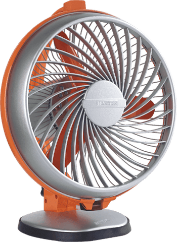 Table Fan - Luminous Buddy - 230 Mm / 2800 RPM  Hi Speed Table Fan Orange