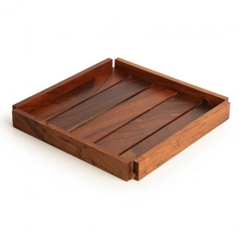 "Nesting ""Slat"" Trays Set"