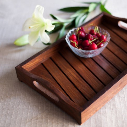 "The ""Slat"" Serving Tray"