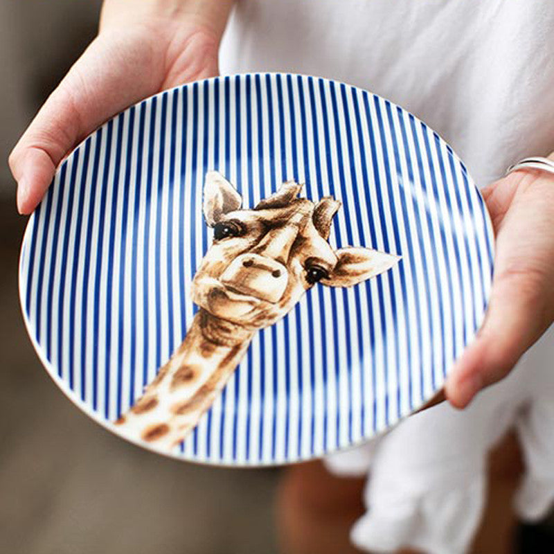 Adorable Zoo Inspired Plates