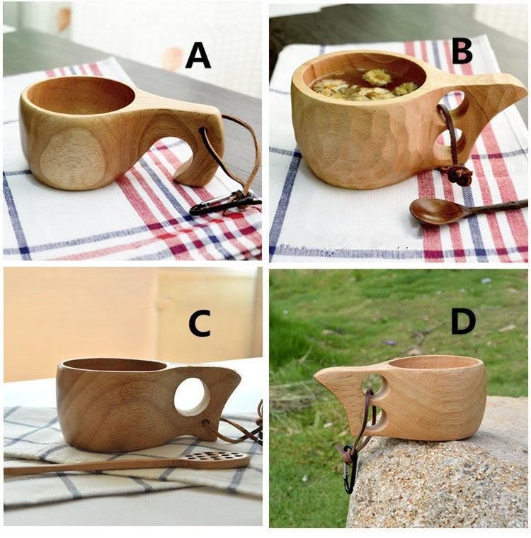 Assorted Wooden Cups
