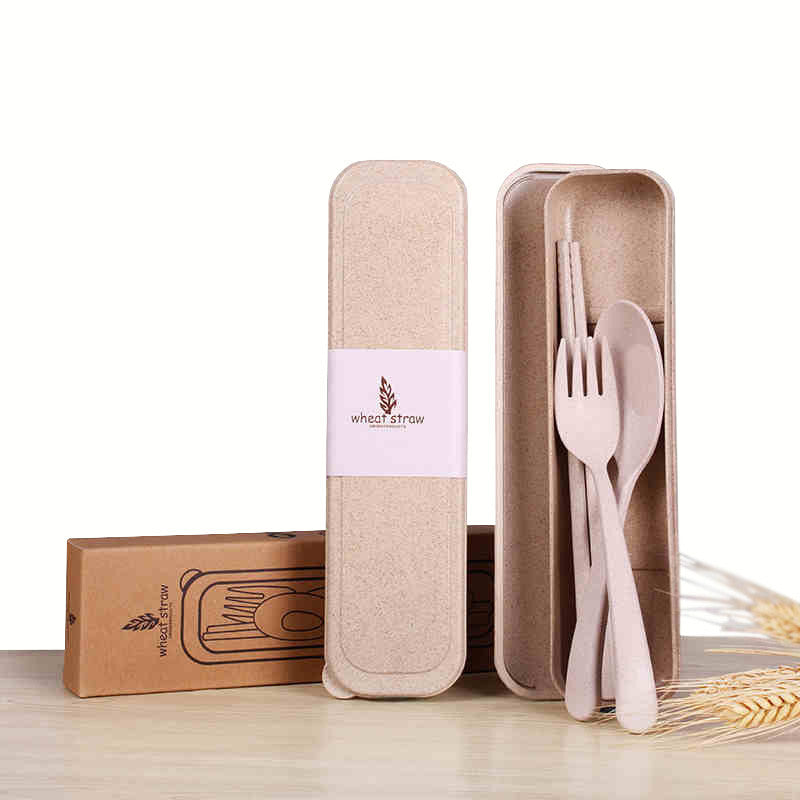 Biodegradable Wheat Tableware Set