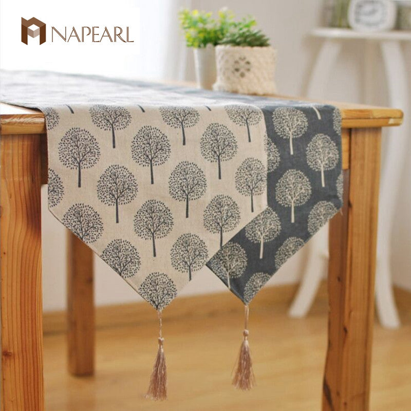 """Lets Plant a Tree"" Table Runner"