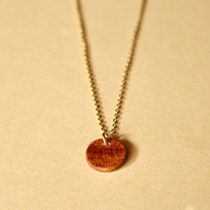 The Camille Necklace in Cherry